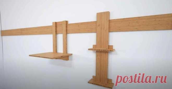 Простой и надежный способ крепления деревянных полок к стене — с помощью французских планок В этой статье мы хотим рассказать вам о простом и надежном способе крепления полок к стене. Для этого используются французские планки.    Такой способ крепления обычно используется в домашней мастерской — для удобного хранения ящичков, полочек, а