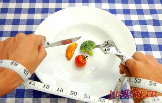 Эффективная диета для похудения за 2 недели.