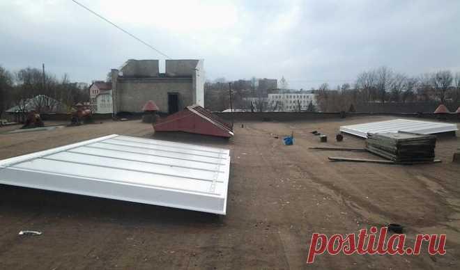 Купить зенитные фонари в Минске | Ремонт зенитных фонарей по низким ценам