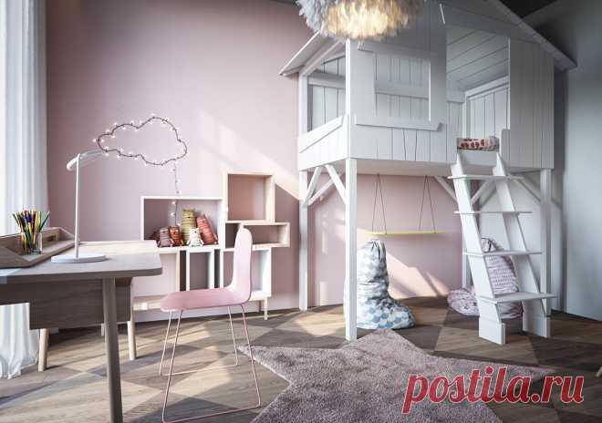 Что должно быть в детской комнате для девочки, мальчика или близнецов 3-5 лет