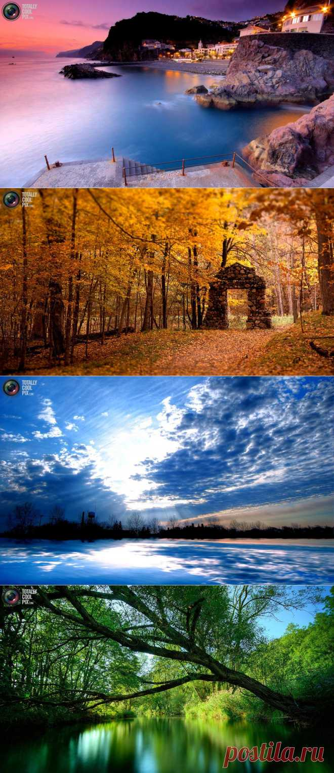 Фотосъёмка пейзажа..