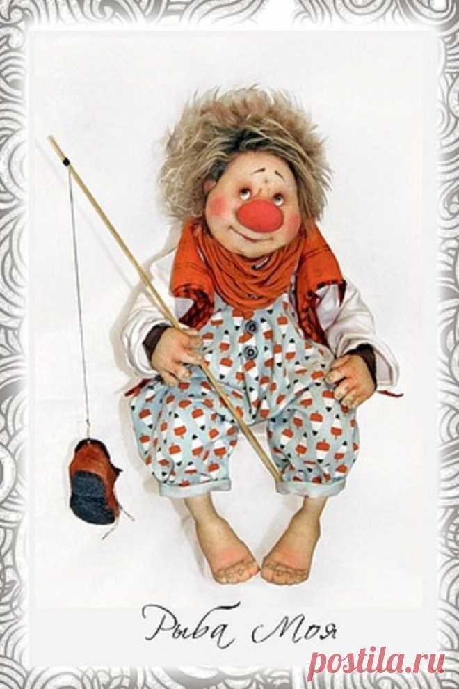 Авторские куклы ручной работы художников Михайловых. | Я в полном восторге! (часть-1).