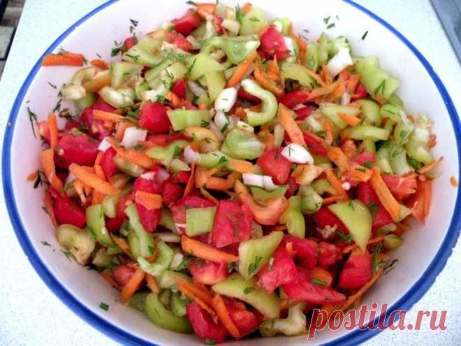 Супер заготовка овощей на зиму!