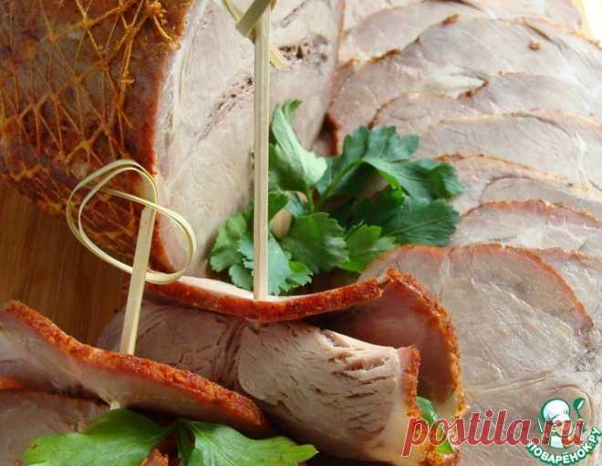 Мясной орех для бутербродов – кулинарный рецепт