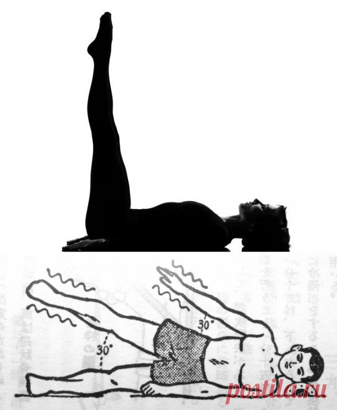 Гимнастика ниши в картинках