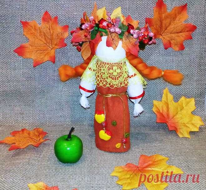 Шьем куколку «Марфушенька-душенька» и встречаем бабье лето!