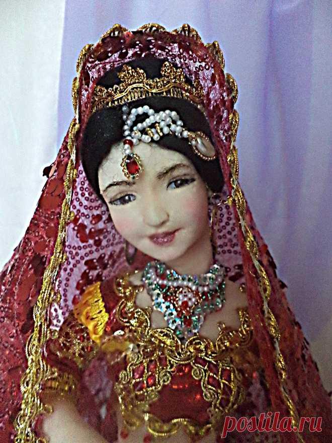 Делаем восточную куклу: индианочка, куклы своими руками от мастера наталия