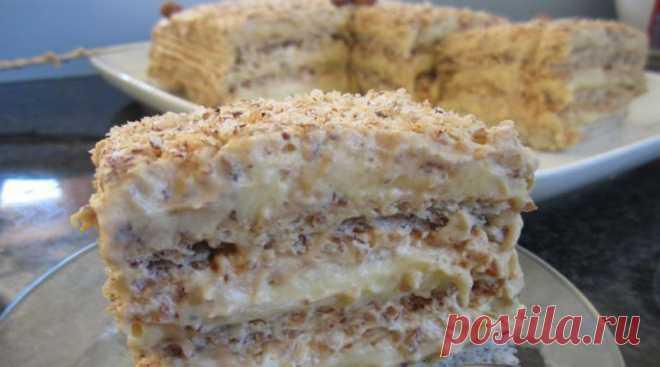 Любимый торт «Египетский». По просьбам родных, готовлю постоянно!