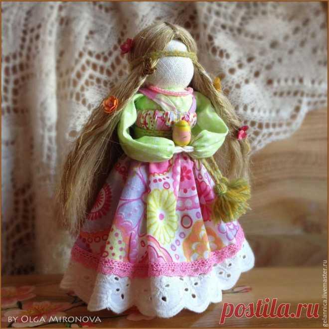 Мастер-класс по созданию куколки Радуницы
