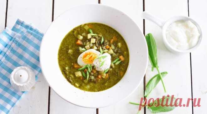 Зеленые щи из крапивы и щавеля | Вкусные рецепты