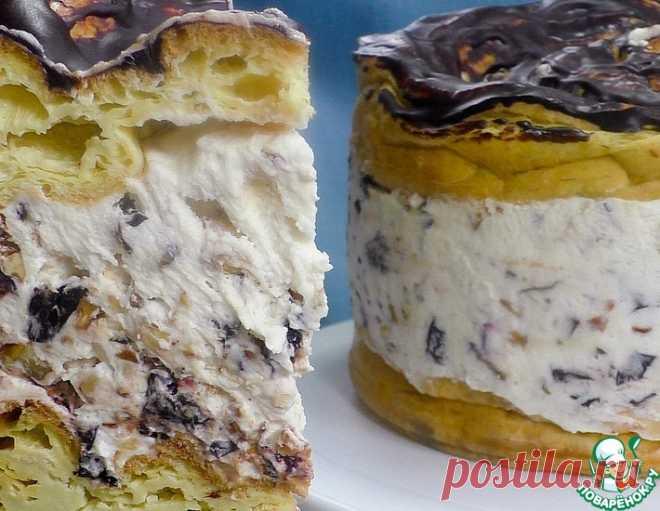 Торт с черносливом и орехами – кулинарный рецепт