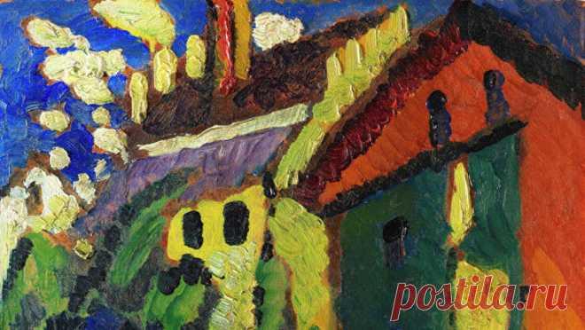 Картину художника  Василия Кандинского продали на аукционе за рекордную цену 2,5 миллиона евро.Она была написана в 1909 году в Мюнхене. Последний раз картина демонстрировалась публике в 1916 году в Берлине, после чего была куплена и 90 лет находилась в семье нидерландского журналиста.