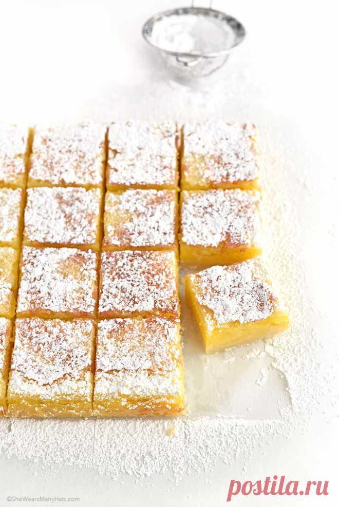 Лимонные пирожные – на завтрак, полдник и просто так