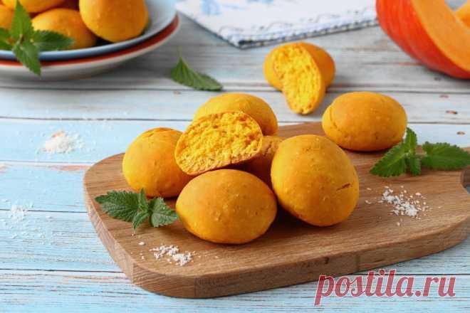 Тыквенное вкусное печенье из тыквы в духовке рецепт с фото пошагово - 1000.menu