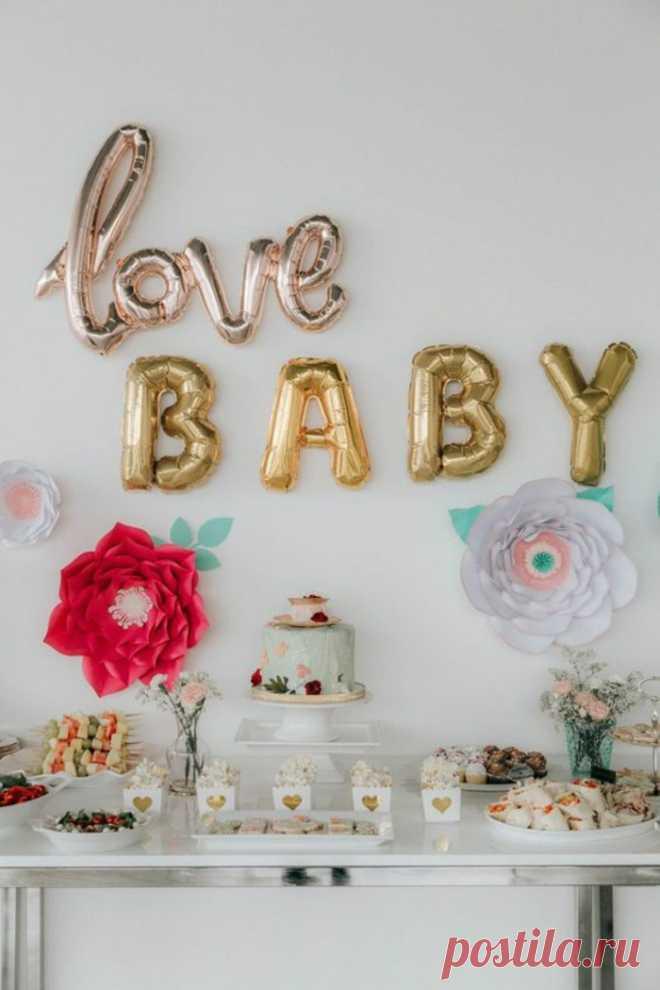 74 идеи для оформления Дня Рождения ребенка