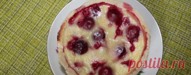 Торт с вишней - Диетический рецепт ПП с фото и видео - Калорийность БЖУ