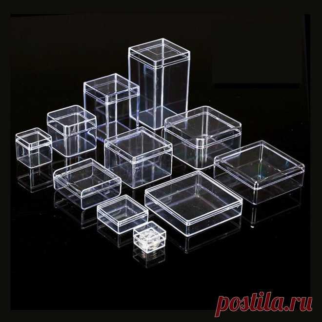 95.31руб. |22 размера маленькие квадратные прозрачные пластиковые ящики для хранения PS для мини ювелирных изделий/бусин/ремесел чехол для упаковки контейнеров|Коробки и ящики для хранения|   | АлиЭкспресс Покупай умнее, живи веселее! Aliexpress.com