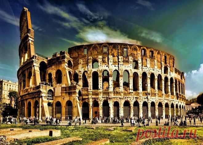 Амфитеатры древности