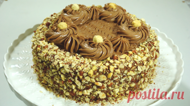 Рецепт вкуснейшего вертикального шоколадного торта с орехами. Рецепт очень простой. | Рецепты к чаю | Яндекс Дзен