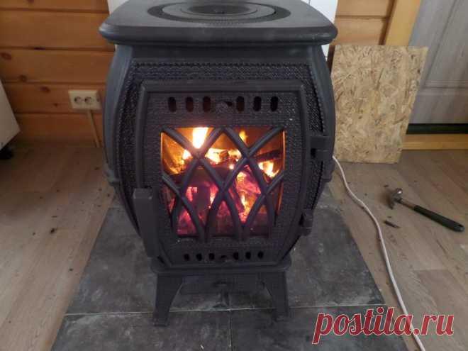 Красивая, элегантная, функциональная чугунная печь для дома. Подойдет для любого интерьера | Печка | Яндекс Дзен