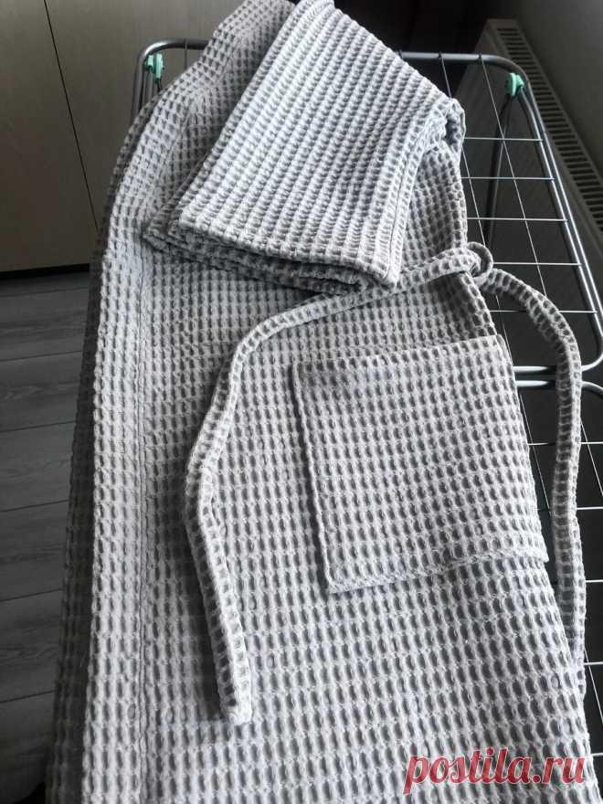 Халат банный — кимоно по легкой выкройке. Проверено! | О рукоделии, и не только. 🧵✂️👜 | Яндекс Дзен