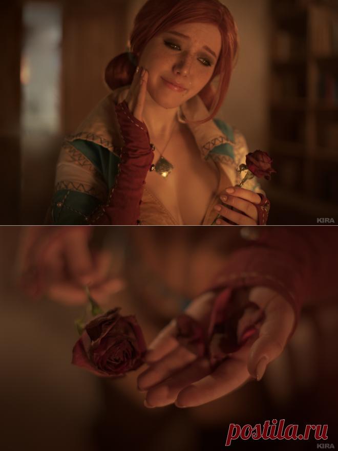 Косплей. Ведьмак 3 Дикая Охота - Роза Памяти