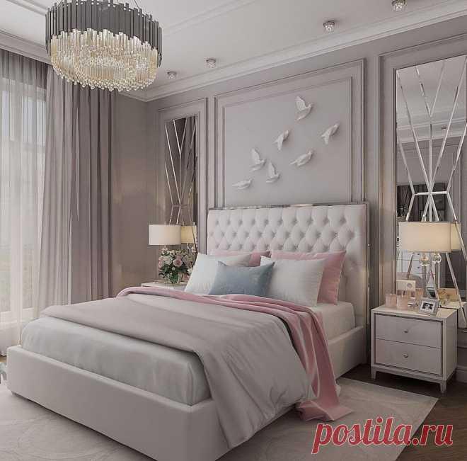 Как сделать спальню красивой при помощи штор: показываем и рассказываем | Mebel.ru | Яндекс Дзен