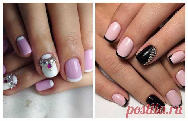 Дизайн ногтей в стиле