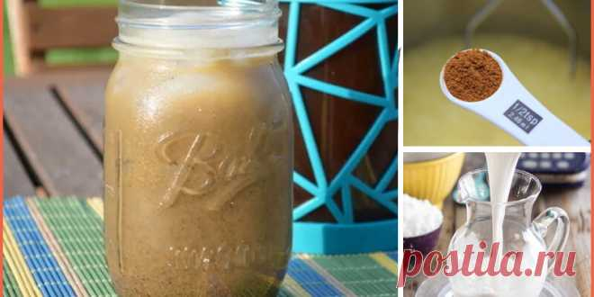 Пряный кофе с корицей и кокосовым молоком для энергии без остановки! - Советы на каждый день
