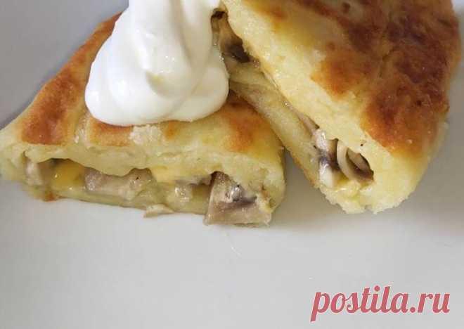 (15) Зразы с грибами и сыром - пошаговый рецепт с фото. Автор рецепта Kristals Kristals ✈ . - Cookpad