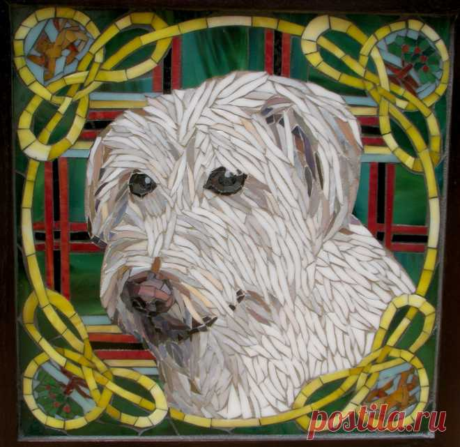 Dog Mosaic (Page 1) - Line.17QQ.com