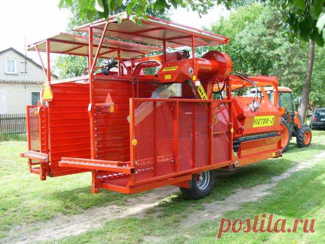 Комбайн для сбора смородины, аронии, шиповника, крыжовника, жимолости, винограда VICTOR/Z купить в Беларуси, цены на комбайн для уборки ягоды