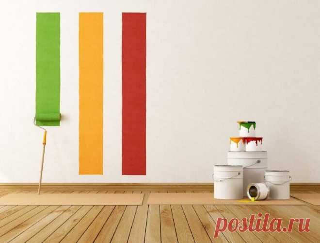 Выбор краски для окрашивания стен и потолка | Журнал