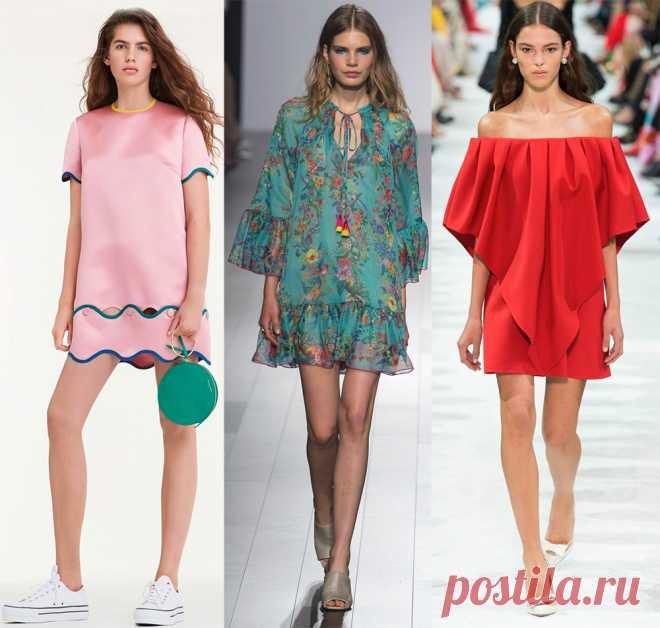 Платья весна-лето 2018 – модные тенденции и новинки   Шмотки   Постила f590d14e4e1