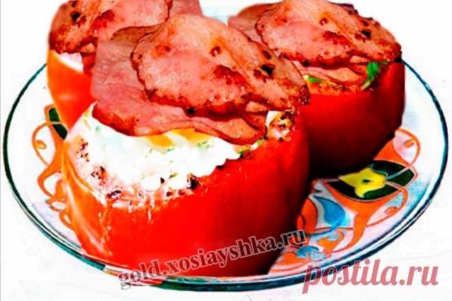 Яйца с помидорами по-техасски | Рапсодия кулинарии