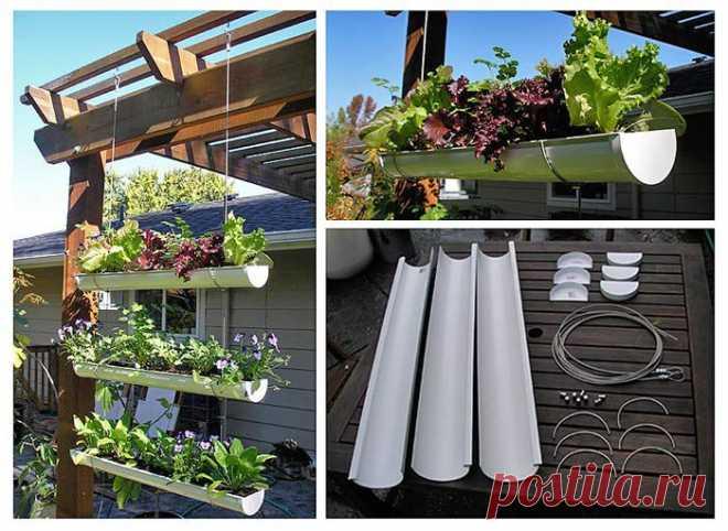 Вертикальный огород для дачи и балкона..