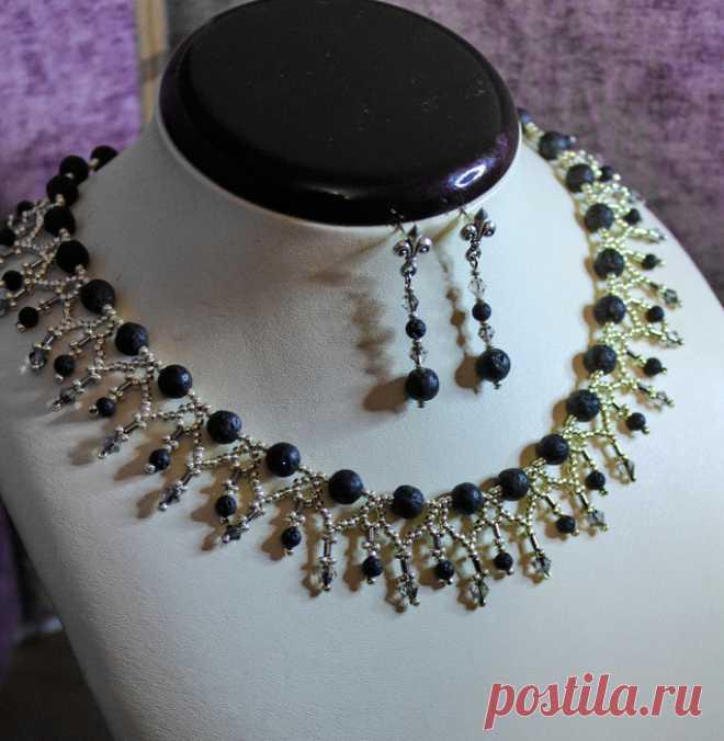 Роскошное ожерелье