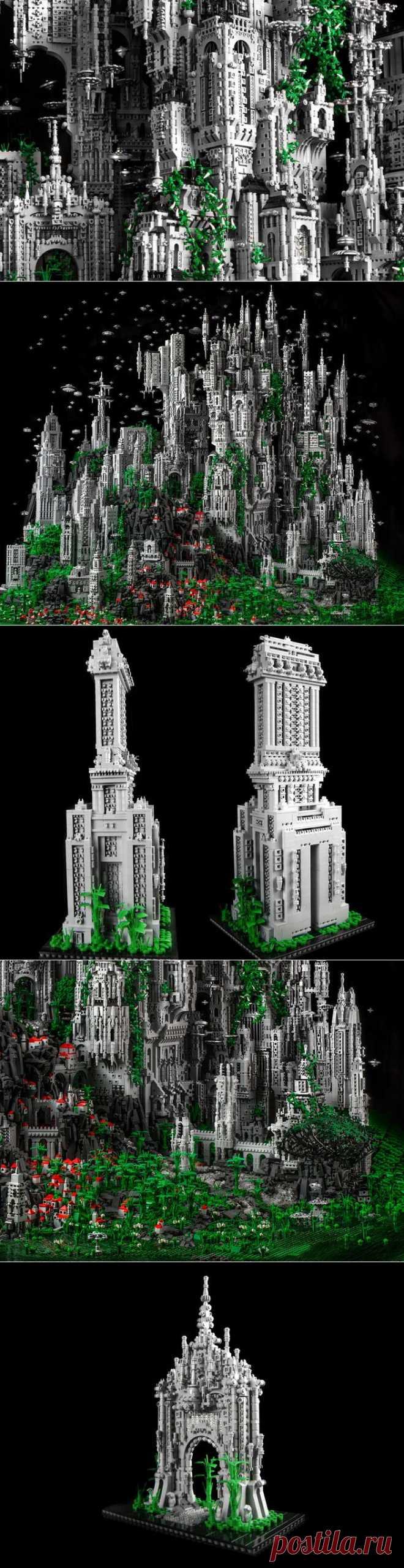 Город из ... Lego! | СВОИМИ РУКАМИ