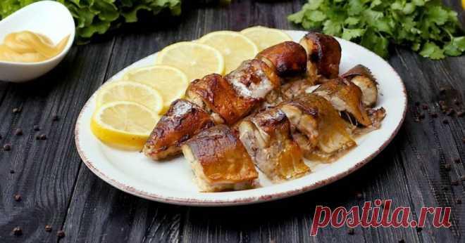 Скумбрия в горчично-соевом соусе - Со Вкусом