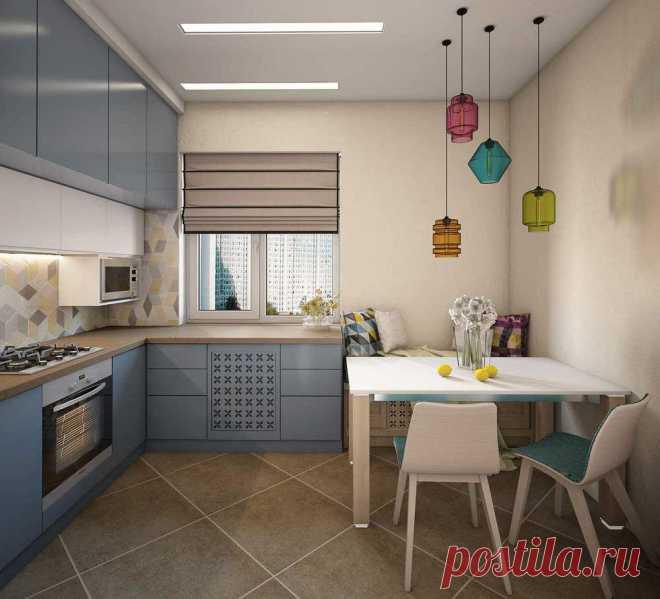 Дизайн кухни 10 кв. м: 100 фото новинок, варианты планировки