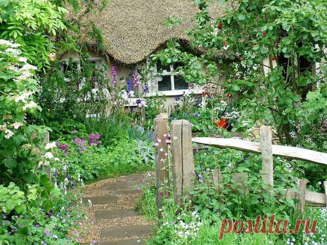 Всё о ландшафтном дизайне загородного дома: современные стили, готовые проекты