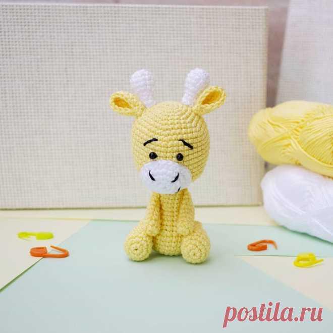 Tiny giraffe amigurumi pattern - Amigurumi Today | 660x660