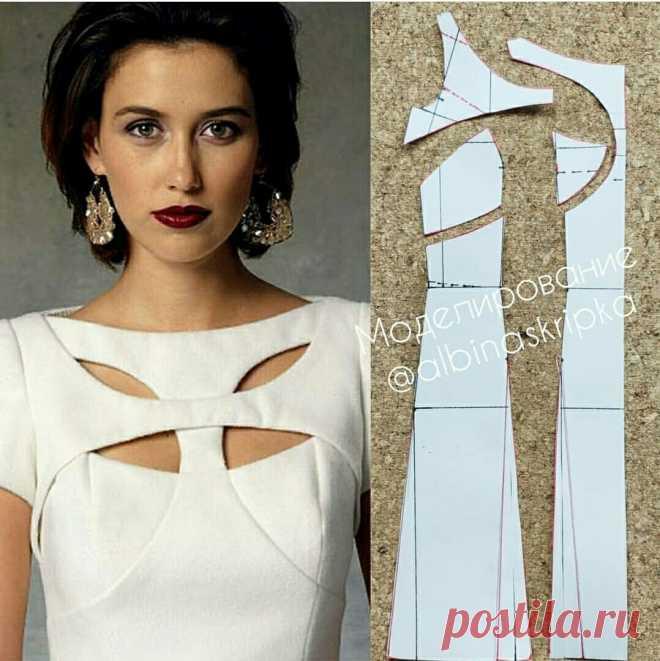 Моделирование оригинального платья — Сделай сам, идеи для творчества - DIY Ideas