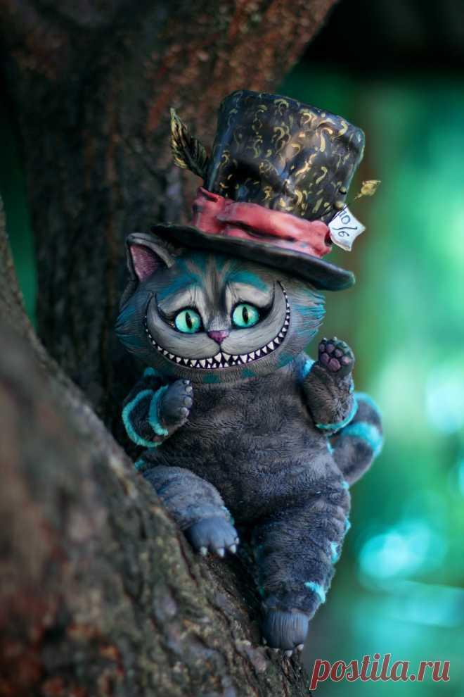 фото кота из алисы в стране этом такие сладкие
