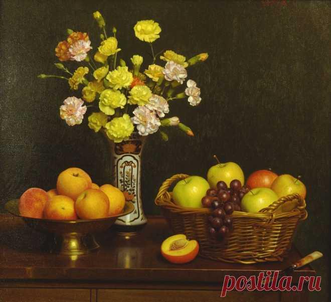Элегантные цветочные натюрморты от Stephen Gjertson