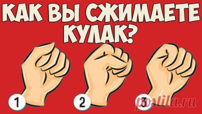 Быстрый тест: просто сожмите руку в кулак, и мы расскажем все о вашем типе личности! — Центр обучения Профессионалы.ru — Профессионалы.ru
