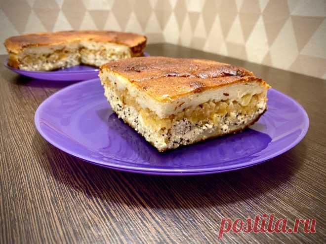 Яблочно–творожный пп–пирог с лимоном и имбирем | ПП и ЗОЖ десерты как эксперимент | Яндекс Дзен