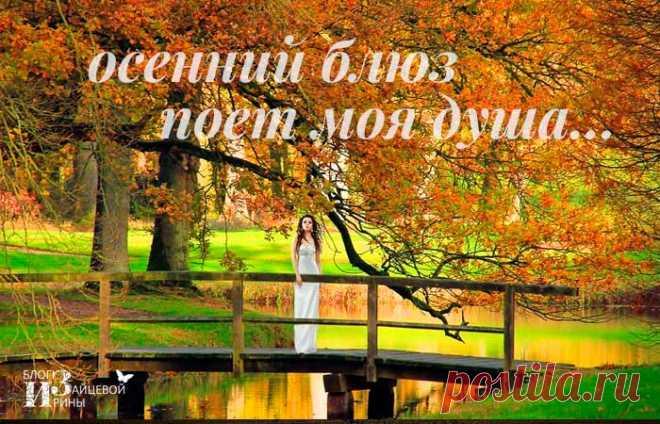Осенний блюз поет моя душа | Блог Ирины Зайцевой