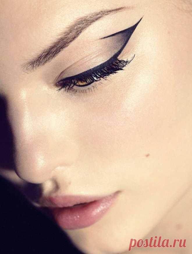Обалденно красивые стрелки на глазах