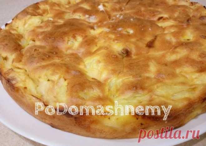 Заливной пирог к ужину с вкусной начинкой - пошаговый рецепт с фото. Автор рецепта Podomashnemy . - Cookpad